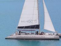Viaggio piu grande catamarano a vela esclusivo