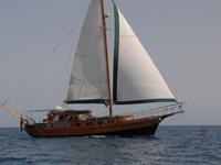 Viaggio Paradise Barca a Vela caicco turco