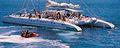 Catamarano Vela Barca Blue Puerto Mogan